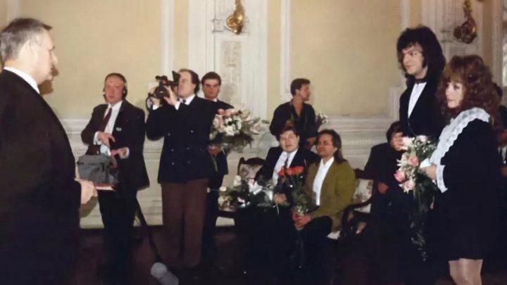 Редкие свадебные фото советских и российских звезд (27 фото)