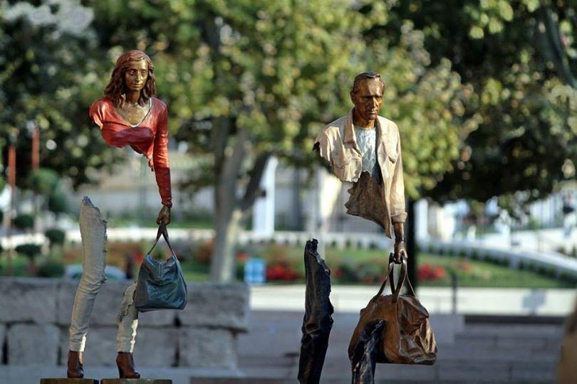 7 удивительных скульптур, созданных вопреки законам гравитации