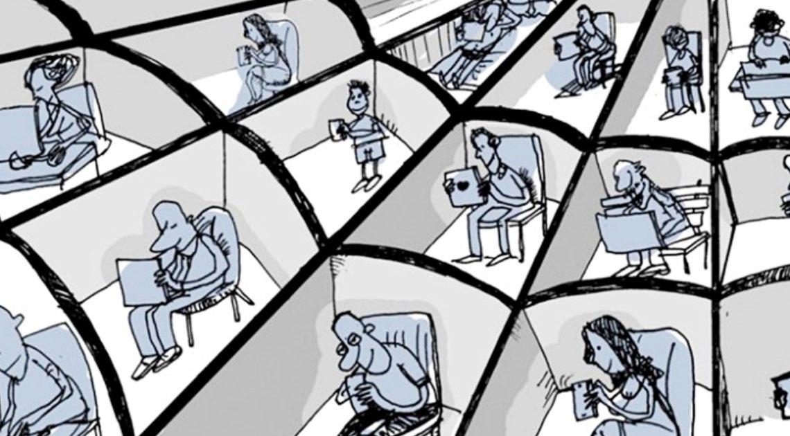 25 честных иллюстраций, которые смело расскажут всё о современном мире