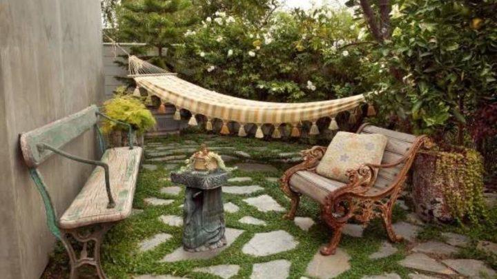 Дизайн двора частного дома (60 фото): создаем красивый экстерьер — Klever