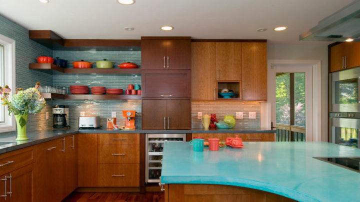 Двадцать красивых идей оформления и дизайна кухни