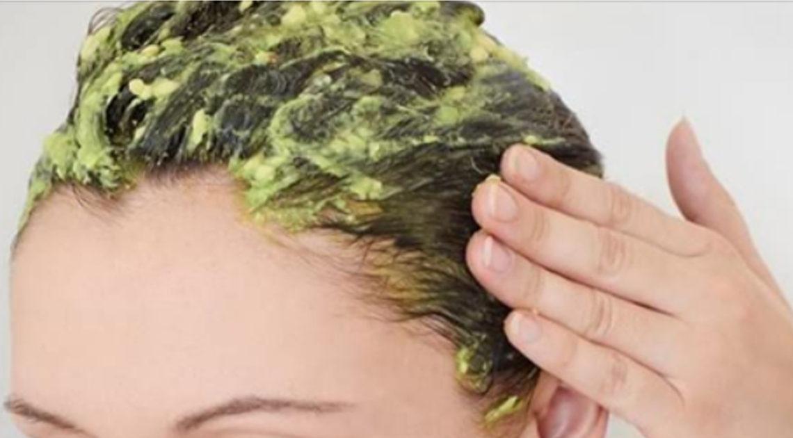 Маска для волос, стимулирующая рост.