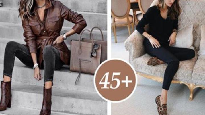 Как одеваться стильно, когда тебе +45